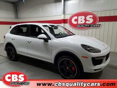 Pre-Owned 2017 Porsche Cayenne Turbo S